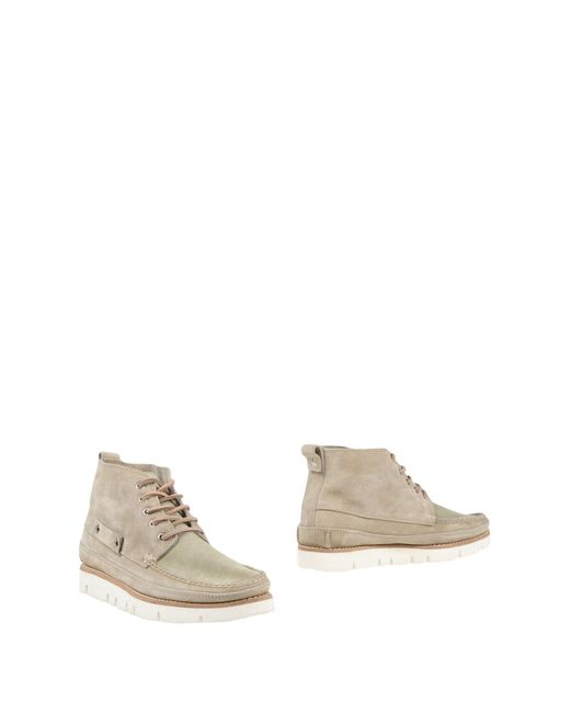 Buttero - Natural Ankle Boots - Lyst