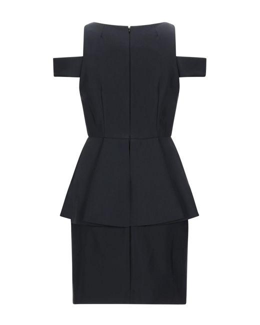 Vestito corto di MILLY in Black