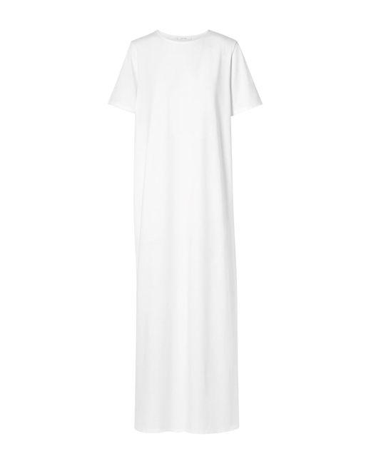 The Row White Langes Kleid