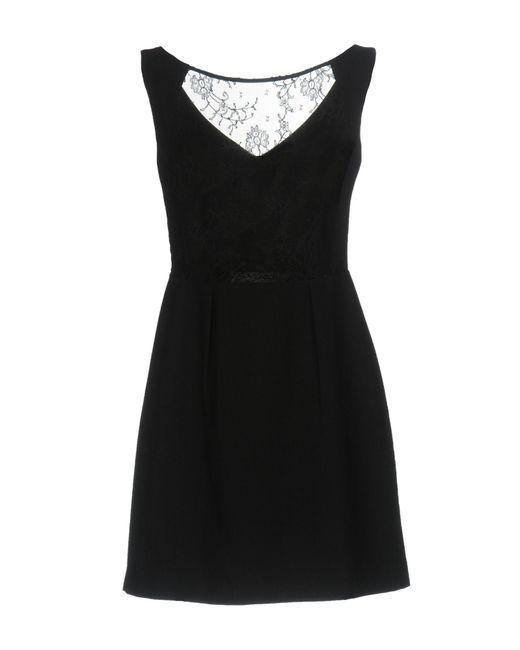 Tara Jarmon Black Short Dress