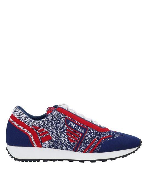 Prada Blue Low-tops & Sneakers