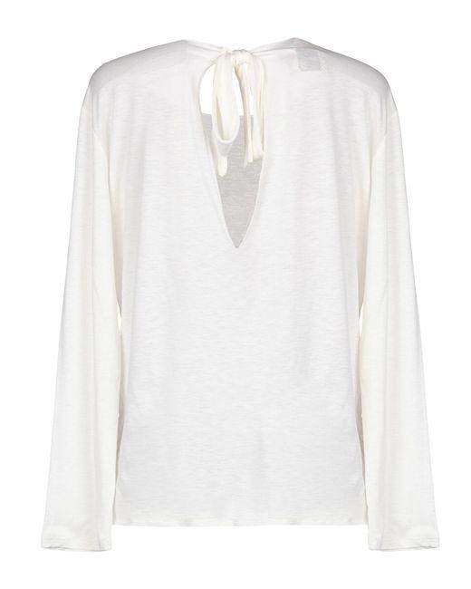 Camiseta ..,merci de color White