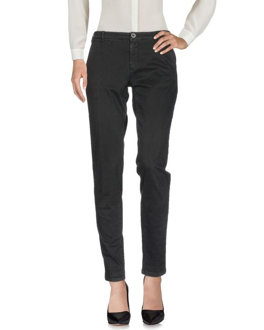 40weft - Black Casual Trouser - Lyst