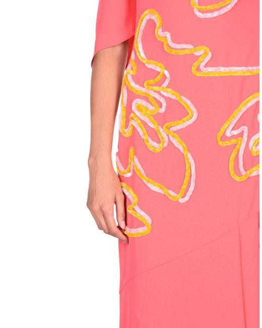 Robe mi-longue Peter Pilotto en coloris Pink