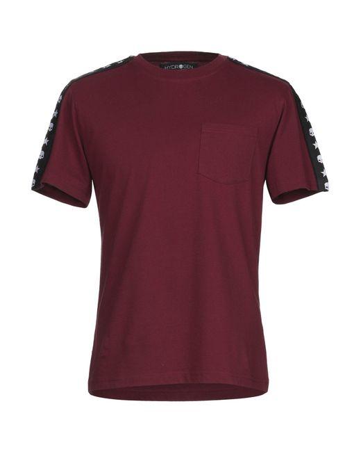 Hydrogen Purple T-shirt for men