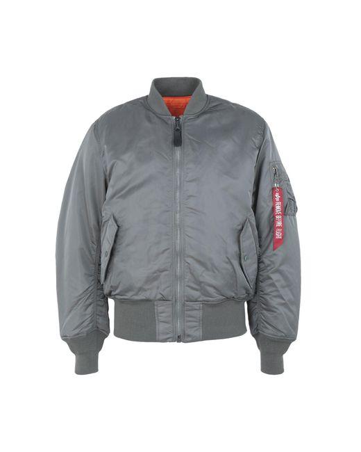 Alpha Industries - Gray Jacket for Men - Lyst