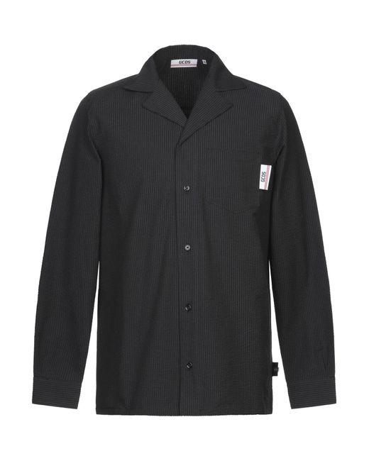 Camisa Gcds de hombre de color Black