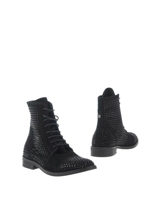 Liu Jo Black Ankle Boots