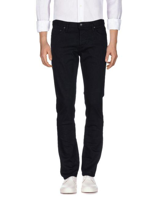 John Varvatos Black Denim Pants for men
