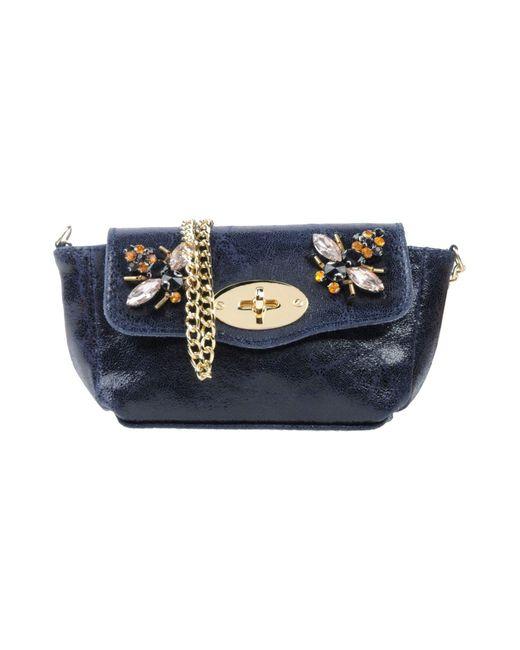 Studio Moda - Blue Cross-body Bag - Lyst