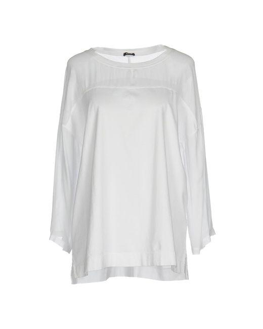 Aspesi - White T-shirt - Lyst