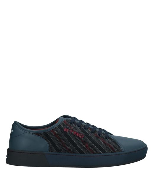 Etro Low Sneakers & Tennisschuhe in Blue für Herren