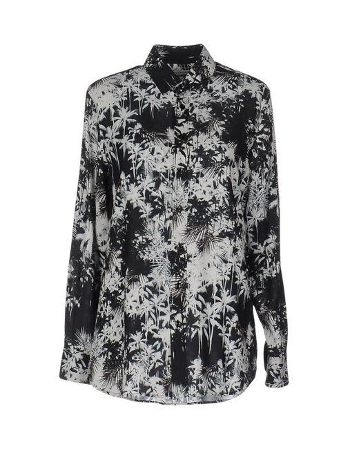 Saint Laurent - Black Shirts - Lyst