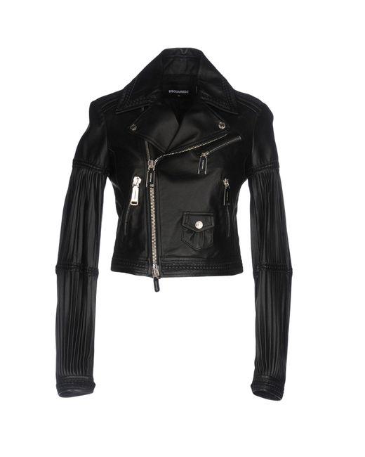 DSquared² - Black Jacket - Lyst