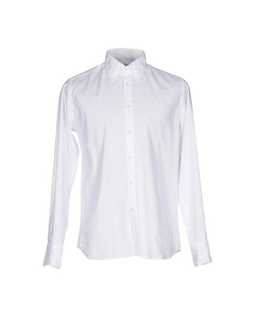Bevilacqua - White Shirt for Men - Lyst