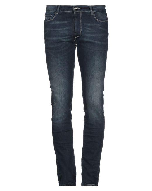Trussardi Blue Denim Trousers for men