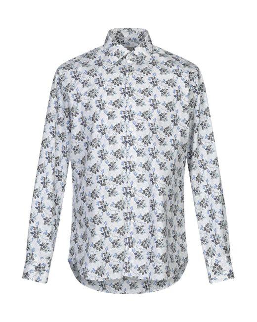 Camicia di Xacus in White da Uomo