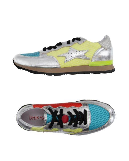 Ishikawa Blue Low-tops & Sneakers for men