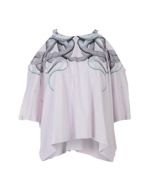 T-shirt di Marcelo Burlon in Pink
