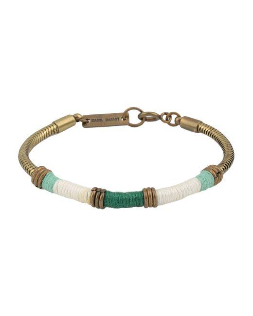 Isabel Marant - Green Bracelet - Lyst