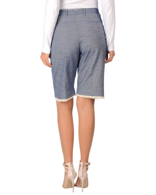PT Torino Blue Bermuda Shorts