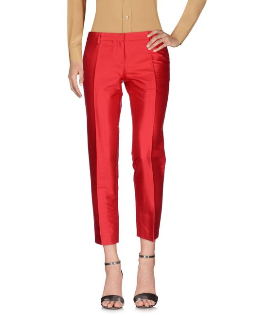 Mauro Grifoni - Red Casual Pants - Lyst