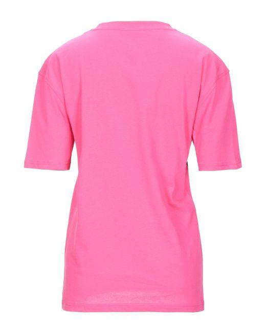 McQ Camiseta de mujer de color rosa 7oKt7
