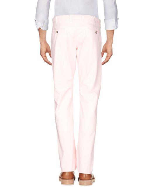 Pantalones Brooksfield de hombre de color Pink