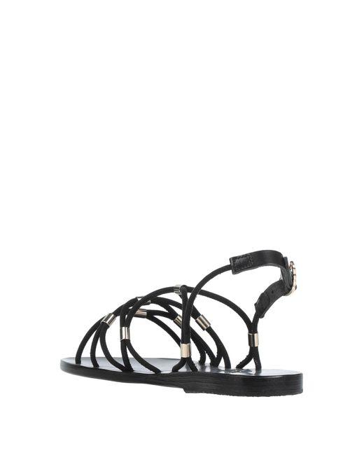 Sandales Ancient Greek Sandals en coloris Black