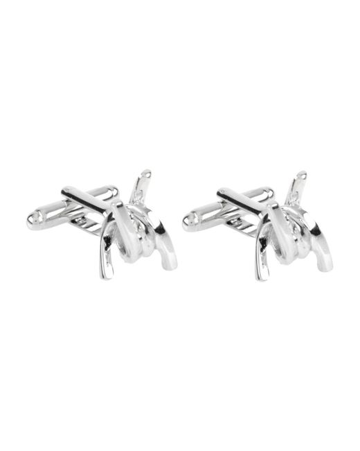 DSquared² - Metallic Cufflinks And Tie Clips - Lyst