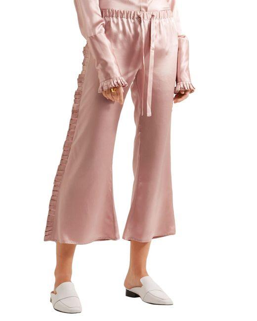 Pantalone capri di Maggie Marilyn in Pink