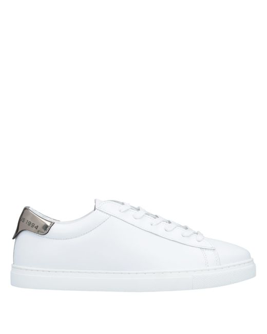DSquared² White Low-tops & Sneakers