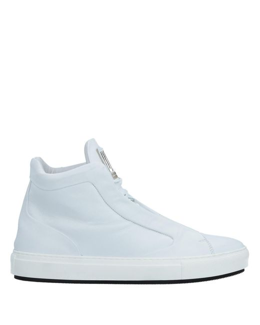 Dirk Bikkembergs - White High-tops & Sneakers for Men - Lyst