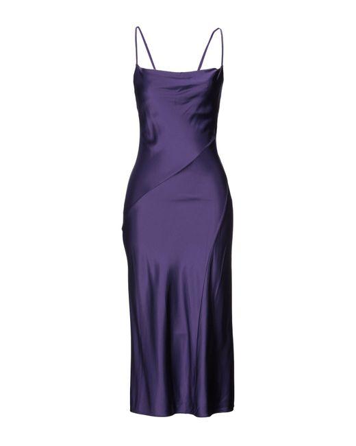 Vestito lungo di Patrizia Pepe in Purple