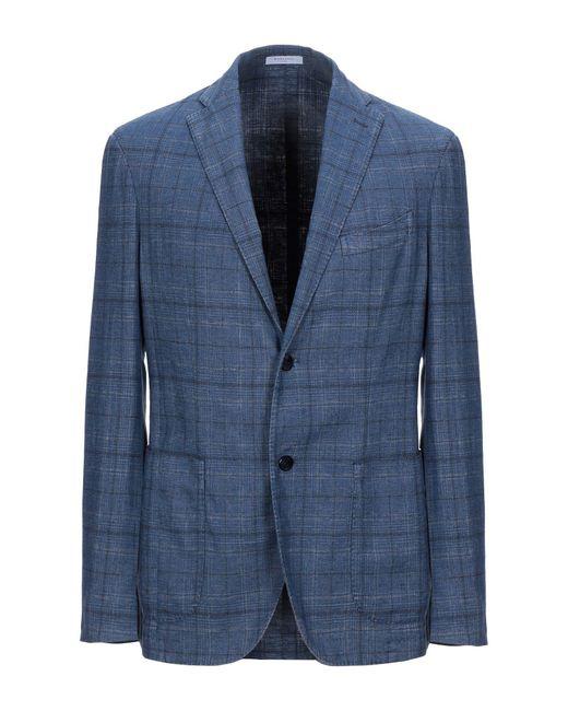 Veste Boglioli pour homme en coloris Blue