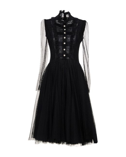 Philosophy Di Lorenzo Serafini - Black 3/4 Length Dresses - Lyst