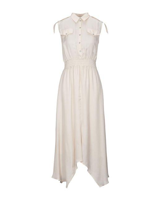 Patrizia Pepe Natural Langes Kleid