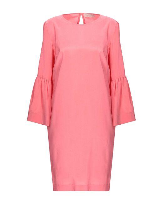 L'Autre Chose Pink Short Dress
