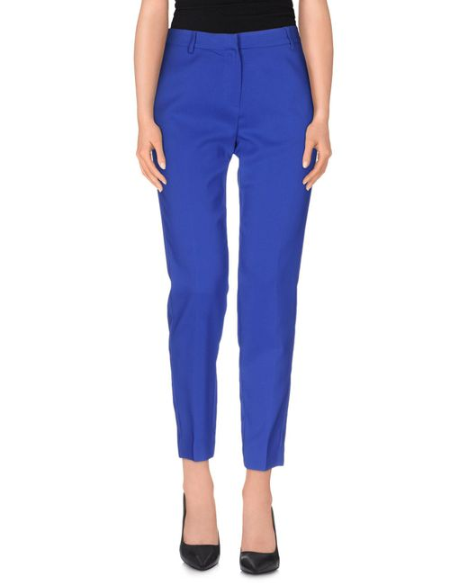 Space Style Concept - Blue Casual Pants - Lyst