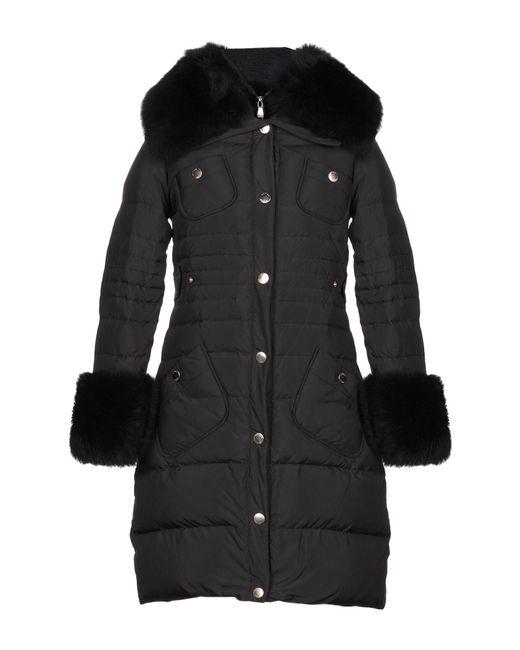 Boutique Moschino Abrigo de mujer de color negro