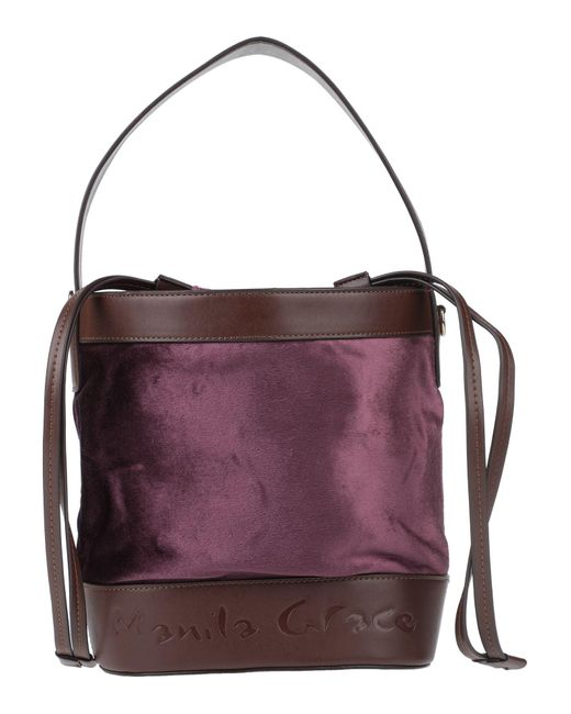 Bolso con bandolera Manila Grace de color Purple