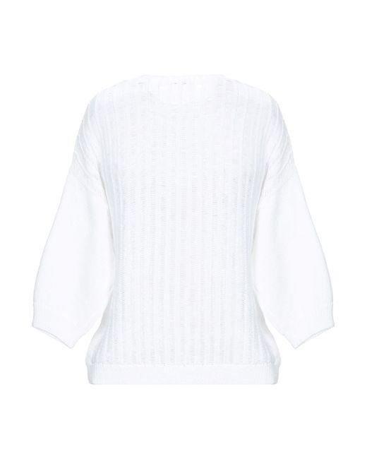 Peserico White Pullover