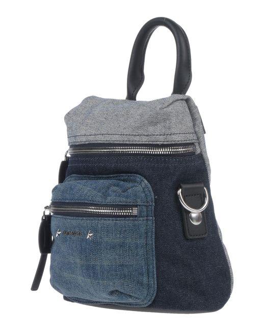 DIESEL Blue Backpacks & Fanny Packs