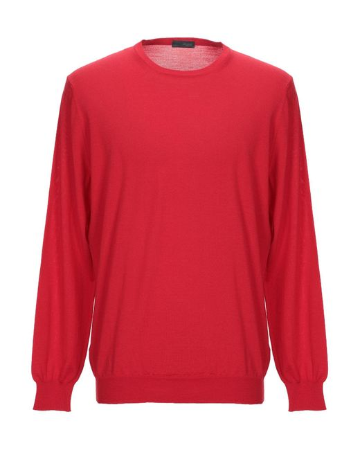 Drumohr Red Sweater for men
