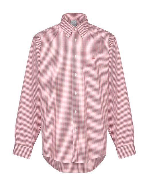 Brooks Brothers Hemd in Red für Herren