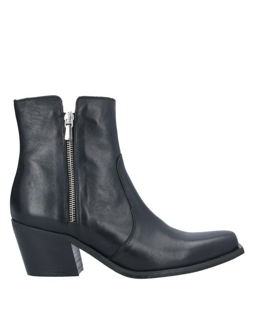 Ovye' By Cristina Lucchi Black Ankle Boots