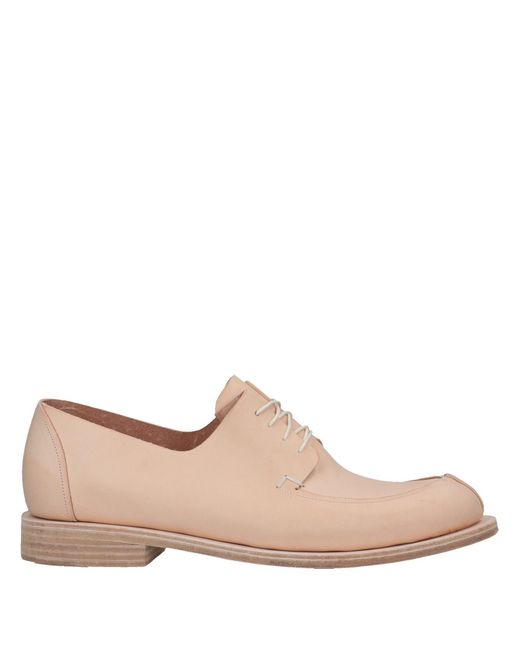 Fauvel - Pink Lace-up Shoe - Lyst