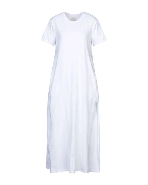 ..,merci Vestido largo de mujer de color blanco