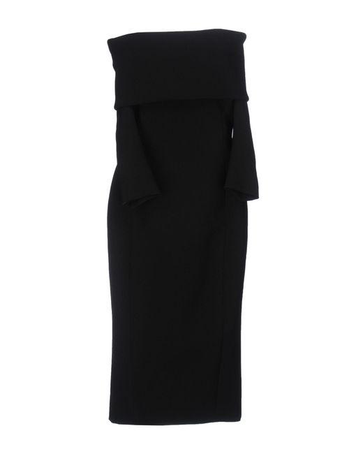 Faith Connexion - Black Knee-length Dress - Lyst