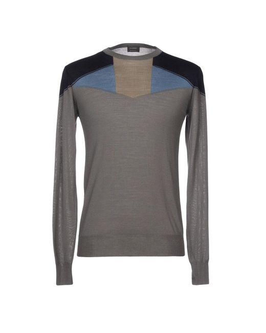 Jil Sander - Gray Knitwear for Men - Lyst